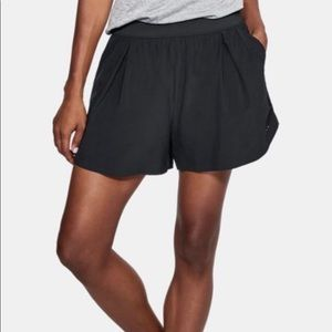 Under Armour | Black Lightweight Fitted Shorts